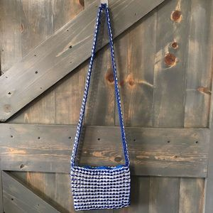 Handmade Recycled Soda Tabs Shoulder Bag